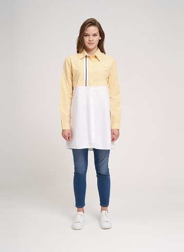Mizalle Youth Gömlek Sarı